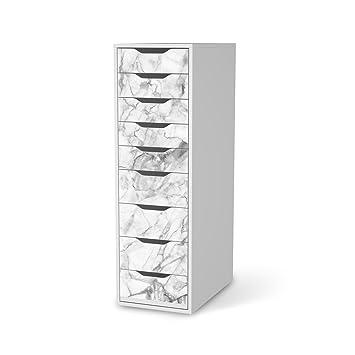 Klebetapete Folie Aufkleber für IKEA Alex Schreibtisch-9 Schubladen ...