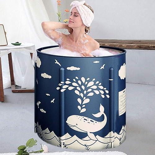 Foldable Bathtub Portable Soaking Bath Tub,Eco-Friendly Bathing Tub
