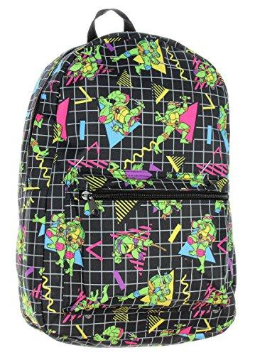 TMNT Backpack Teenage Muntant Ninja Turtles 80's -