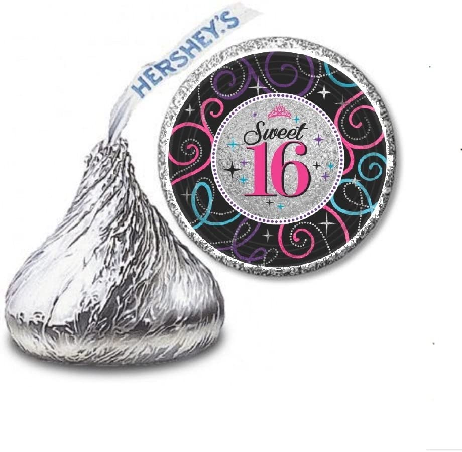216 70/'S DISCO PARTY FAVORS HERSHEY KISS LABELS