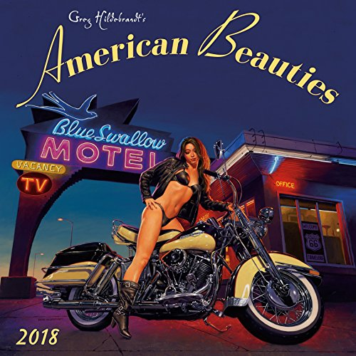 American Beauties 2018 Wall Calendar