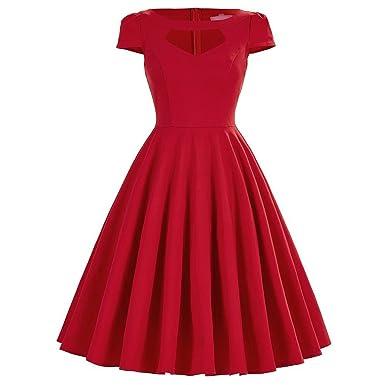Retro Sexy 50s Pinup Rockabilly Vintage Dress Audrey Hepburn Vestidos ES,1892,S