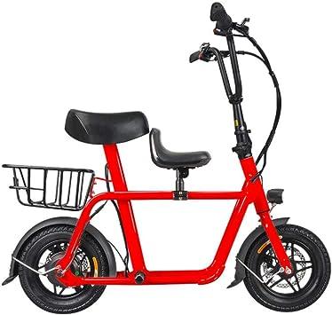 Suyanouz Nuevo Padre del NiñO De Bicicleta EléCtrica Plegable Mini ...