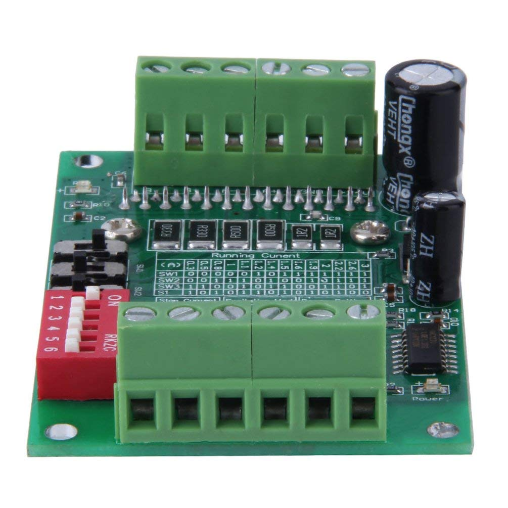 Verde 6N137 Accoppiamento ottico ad alta velocit/à DC 10-35V TB6560 3A Router di controllo CNC Router Singoli 1 assi Controller driver motore passo-passo