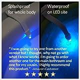 Rechargeable Toilet Light with IP67 Waterproof