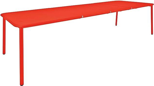 Emu Yard Aluminium Table de Jardin Extensible Standard Rot ...