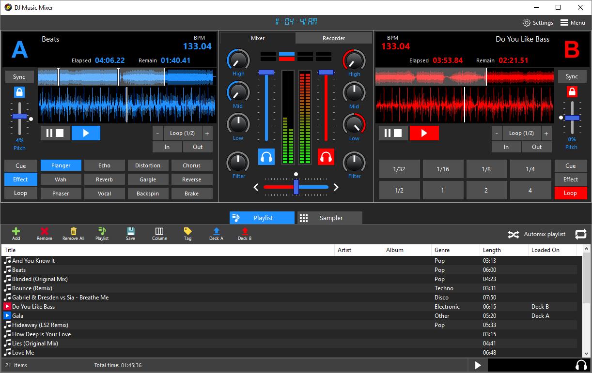 music remixing software - 4