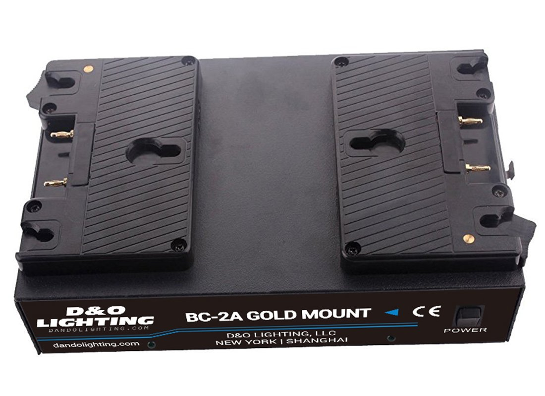 Dual Channel Anton Bauer Gold Mount Battery Kit Charger with 16.8V Power Supply Output