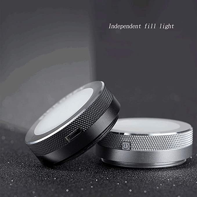 Fill light ZHAOSHUNLI Photo Flash Beauty Self-Timer Artifact Rod LED Lens Light Rejuvenation External Photography Universal Accessories Color : Black