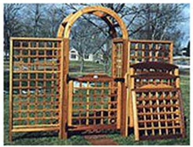 Carpintería proyecto papel Plan para construir arco y enredadera (madera): Amazon.es: Bricolaje y herramientas