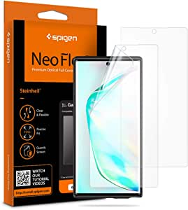 Spigen NeoFlex Screen Protector (2 packs) TPU Film, Designed for Samsung Galaxy Note 10 (2019)
