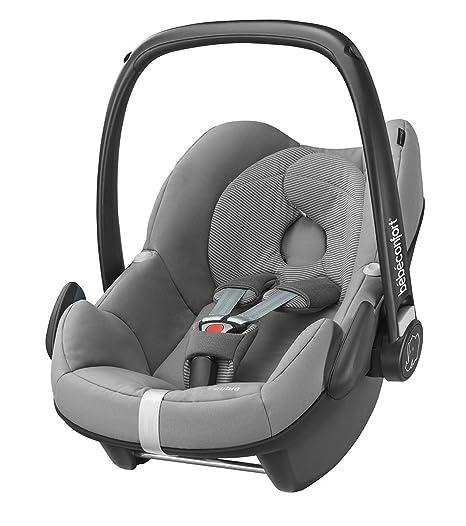 Bébé Confort Pebble - Silla de coche, grupo 0+, color gris