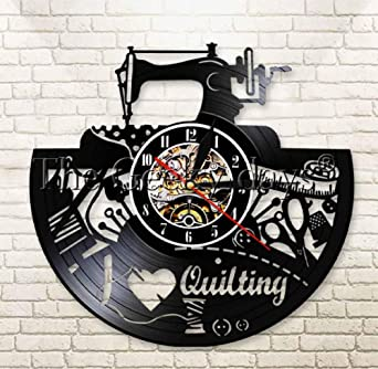 I Love Quilting Máquina de Coser Tailor Shop Modern Home Decor ...