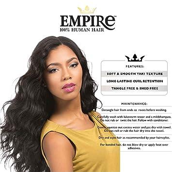 Amazon Com Empire Body Wave Weaving Hair 100 Human Sensationnel