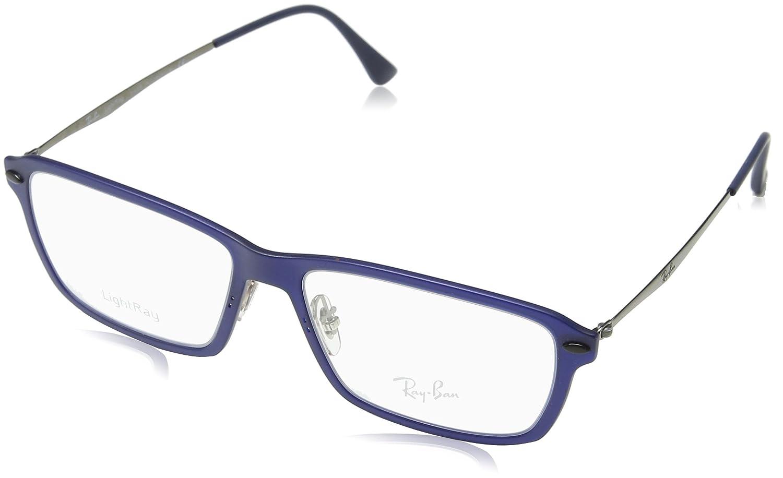 1ddd901b6e Amazon.com  Ray-Ban Men s RX7038 Eyeglasses Light Matte Brown 53mm  Shoes
