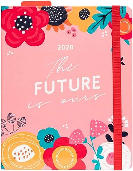Erik, Agenda 2020 Semana Vista Premium Blummen, 17 Meses, 16.5 x ...