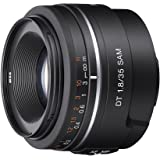 Sony Alpha SAL35F18 35mm f/1.8 A-mount Wide Angle Lens (Black)