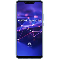 """Huawei Mate 20 lite 6.3"""" Hybrid Dual SIM 4G 4GB 64GB 3750mAh Blue - Smartphones (16 cm (6.3""""), 64 GB, 20 MP, Android, 8.1 + EMUI 8.2, Blue)"""