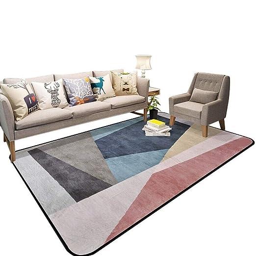 rojo Naranja Moderno Patchwork alfombras pequeñas gran salón Alfombra Alfombras Nuevo cálidos