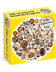 The 100 Most Jewish Foods: 500-Piece Circular Puzzle