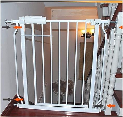 Puerta De Bebé Pasillo Puerta Puerta For Mascotas Bar Puerta De Jardín Juego Valla Valla For Perros Interior Anti-barandilla Barandilla De Aislamiento Jaula De Seguridad For Niños Valla For Perros: Amazon.es: Hogar