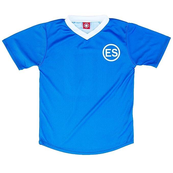 El Salvador # 10 Retro Soccer Jersey