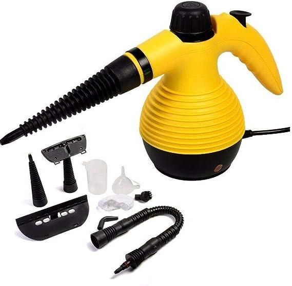 Limpiador eléctrico mediante vapor a presión 1000 W: Amazon.es: Hogar