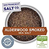 Alderwood Smoked Sea Salt (5oz Pouch Fine Grain)