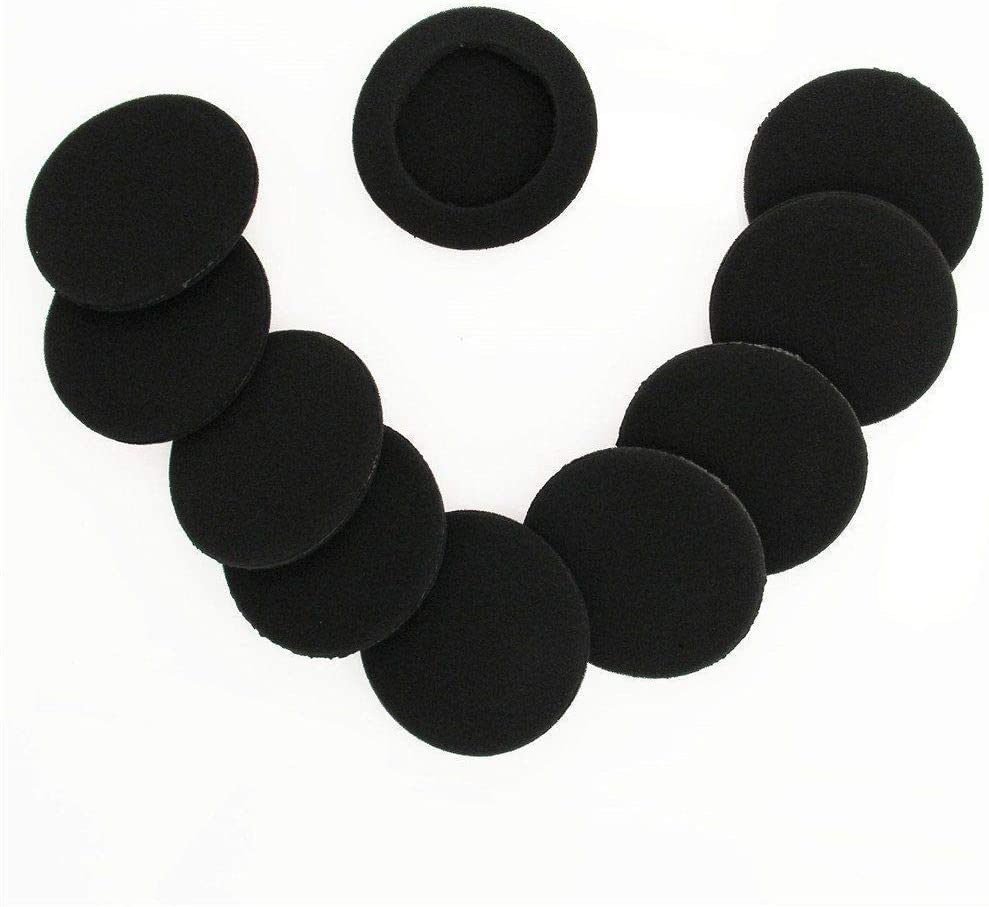 5 Pairs Replacement Earpads Foam Cushions Cover for Sennheiser HD400 HD410 Headphones