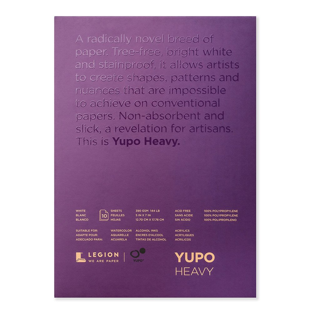 Yupo Paper L21-YUP389WH57 Painting and Drawing, Multi