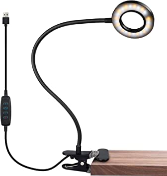 IVict 24 LED USB Book Clamp Light