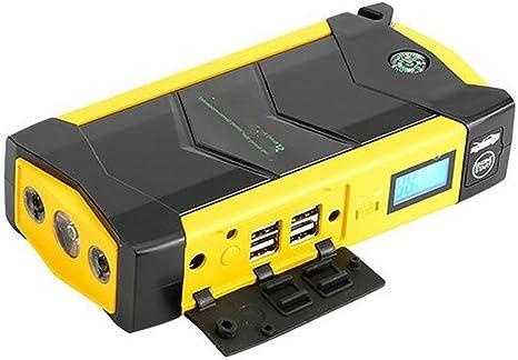 LPY-Car Rover Descarga 600A Peak Portátil Jump Starter 20000 mAh Booster Emergencia Auto Battery Multifunción Pack Power Bank con Smart Clamp para Coche, camión, SUV, Yellow: Amazon.es: Deportes y aire libre