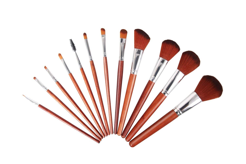 Makeup Brushes, VVinRC Premium Synthetic Cosmetic Professional Makeup Brushes Set, Foundation Blending Blush Eyeliner Face Powder Brush Makeup Brushes