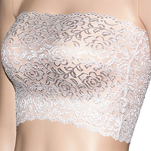 Unlined Stretchy Strapless Through Bandeau product image