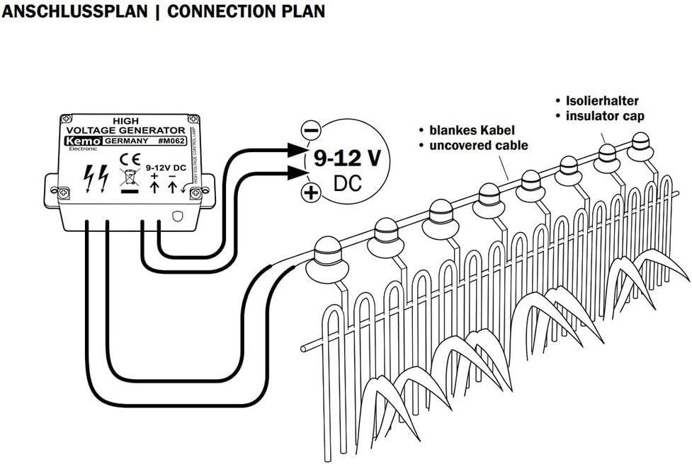 Kersten DG 306 haute tension générateur entelektrisierung