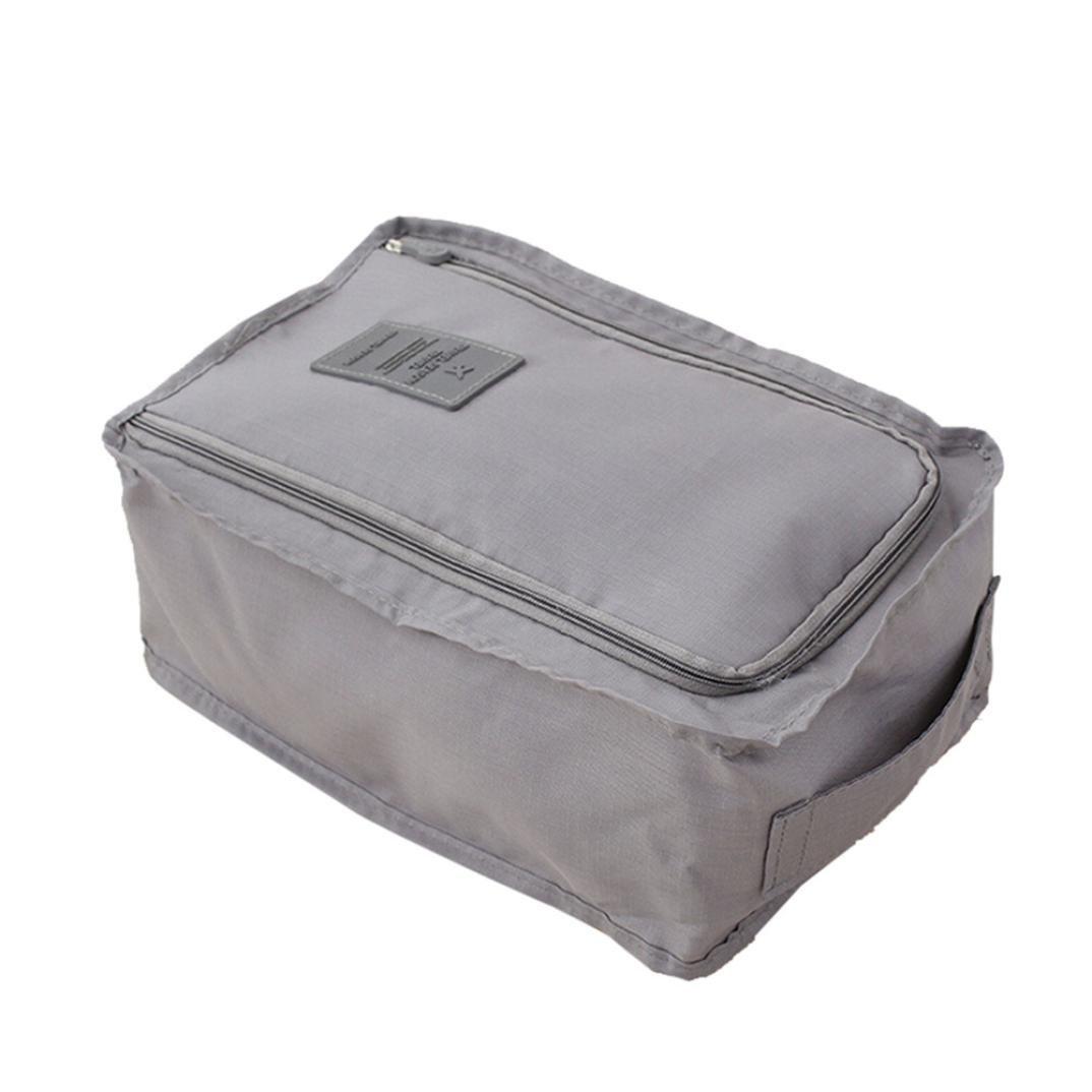 TAOtTAO Bolsa de almacenamiento de viaje de nailon, 6 colores, bolsa organizadora portátil para ordenar zapatos, color azul claro 30 x 21 x 15 cm: ...
