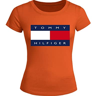 New Tommy hilfiger For Ladies Womens T shirt Tee Outlet