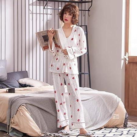 Pijama Mujer Primavera Conjunto De Pijamas Sexis Coreanos ...