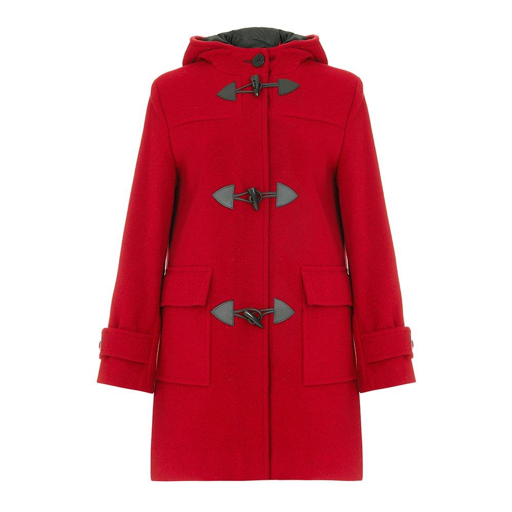 De La Creme Women`s Wool & Cashmere Winter Hooded Duffle Coat wool-outerwear-coats