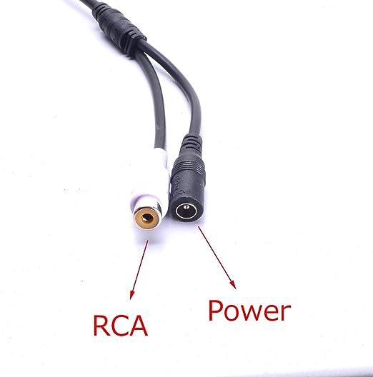 Auto Cinch Kabel Kabelsatz Optional Dc Netzanschluss 2 Elektronik