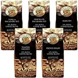 (ロイヤルコナコーヒー) ポピュラー フレーバーコーヒー 5種セット 各227g×5パック (粉)
