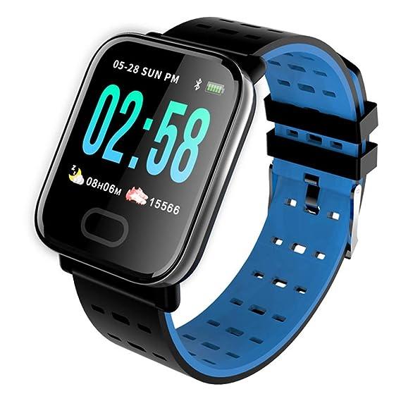 XUEYAN521 Rastreador de Actividad Wristband Smart Watch ...