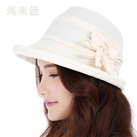 girlfriend boyfriend holiday gifts women elegant fisherman hat female leisure roll edge visor children