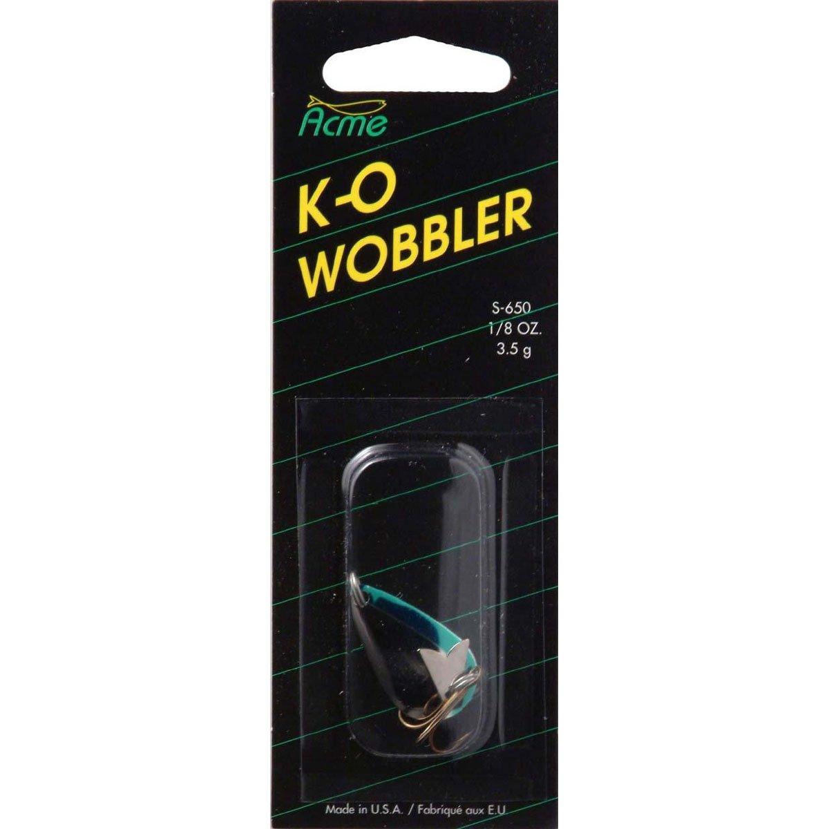Acme Tackle 3//4 oz S680-NCS KO Wobbler 3//4 OZ