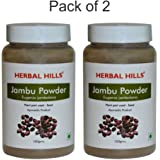 Herbal Hills Jambu Beej Powder - 100 g (Pack of 2)