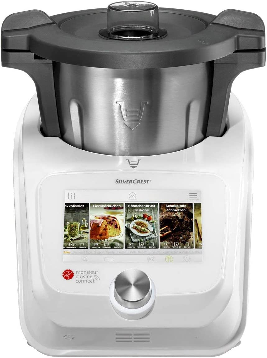 SilverCrest Monsieur cuisine connect: Amazon.es: Grandes ...