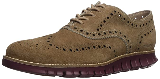 Cole Haan Men's Zerogrand Wing Ox Suede Oxford