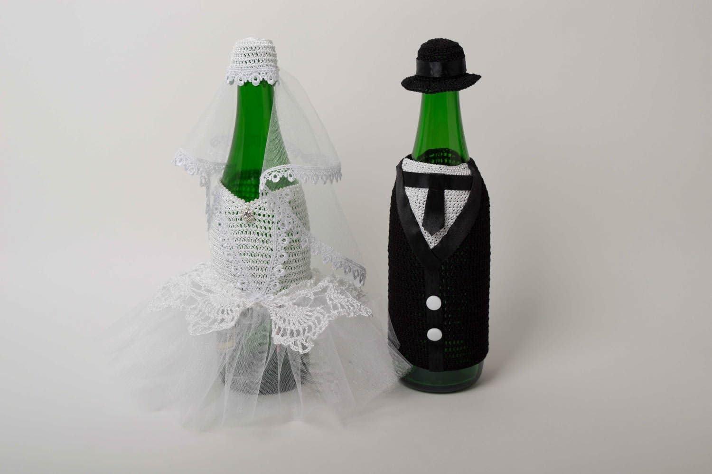 Fundas de tela para botella hechas a mano decoracion original ...