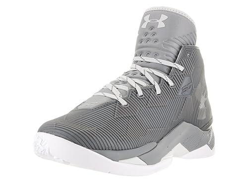 ff976d1c225d Under Armour Men s UA Curry 2.5 Graphite Steel Elemental Sneaker 10 D (M)   Amazon.co.uk  Shoes   Bags