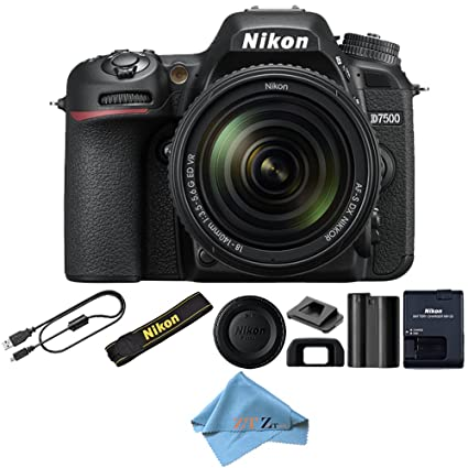Amazon com : Nikon D7500 20 9 MP DX-format Digital SLR